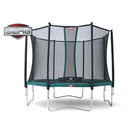 BERG Trampolin Favorit 380 Med Komfort Net Package Deal