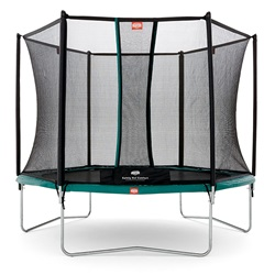 BERG Trampolin Talent 300 Med Komfort Net Package Deal