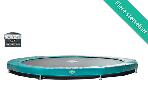 Berg Elite InGround Trampolin Grøn (1) - 330 cm