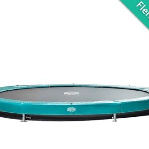 Berg Elite InGround Trampolin Grøn (1) - 430 cm