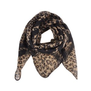 Petit by Sofie Schnoor - Lace Scarf - Leopard