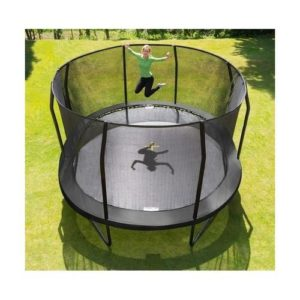 Trampolin - Jumpking Oval Black 5,2 x 4,25 m