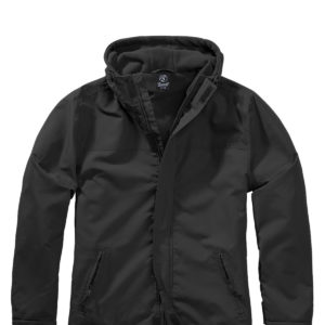 Brandit Windbreaker m. Lynlås (Sort, S)