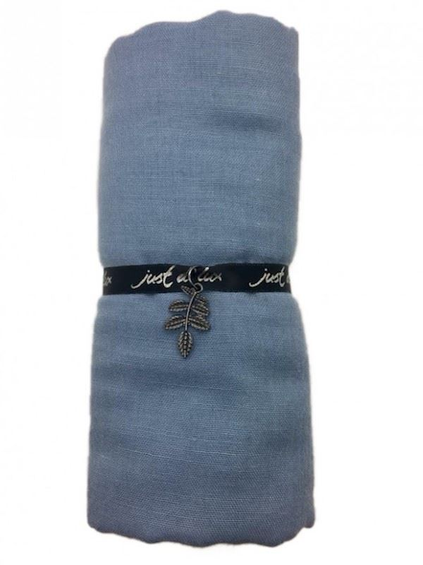 Just d'Lux - Single Coloured Scarf - Light Blue