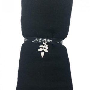 Just d'lux - Single coloured scarf - Black