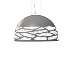 Kelly Small Dome pendel, hvid