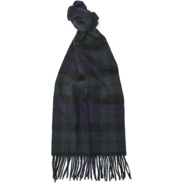 Barbour - NEW CHECK TARTAN SCARF Tørklæder