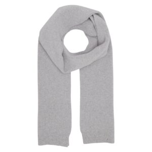 Heather Grey Merino Wool Scarf
